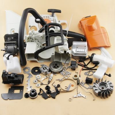 Complete Repair Parts For Stihl Ms180 018 Chainsaw Engine Motor Crankcase Crankshaft Carburetor Fuel Tank Cylinder Piston Ignition Coil Chainsaw Repair