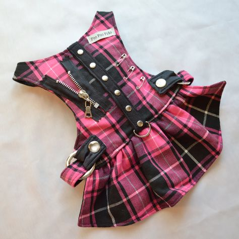 Small Dog Harness Hot for Teacher Harness Dress by FooFooFido