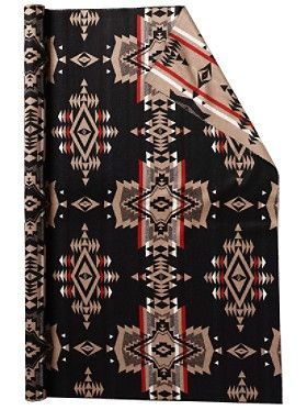 Overall Design Fabric from Pendleton. Use to make your own pillows, table covers, etc.