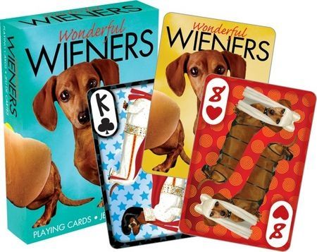 Wonderful Wieners playing cards Brand New Sealed