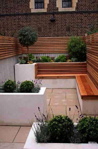 Urban Gardening Examples Versus Landscape Garden Design Belfast Before Outdoor Landscaping Ideas For Small Sp Urban Garden Garden Room Garden Ideas Split Level