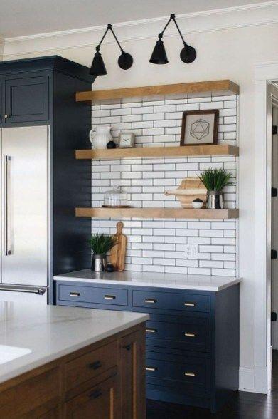 Attractive Modern Farmhouse Kitchen Ideas Design13 Farmhouse