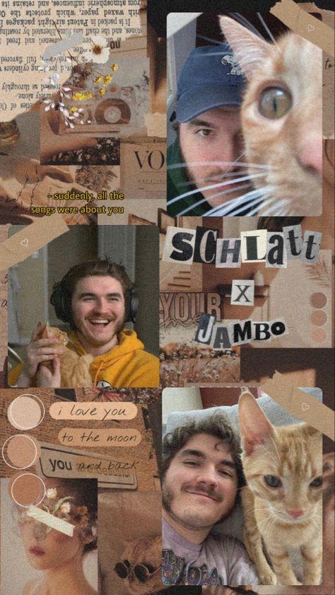 jschlatt and jambo aesthetic phone wallpaper