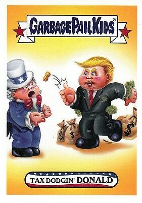 Garbage Pail Kids Disg-Race To The White House Hacked Hillary #27