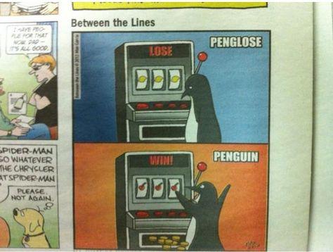 Sucker for penguins...