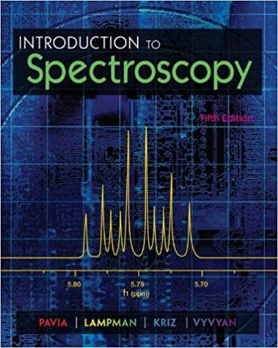 Introduction To Spectroscopy 5th Edition Ebook Cst Chemistry Textbook Pavia Introduction