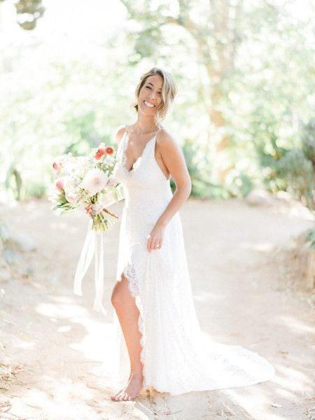 Barefoot Bohemian - What Real Bohemian Brides Wore Down the Aisle - Photos