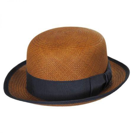 Bailey Chaplin Panama Straw Bowler Hat Derby Bowler Hats Bowler Hat Hats For Men Men S Hats
