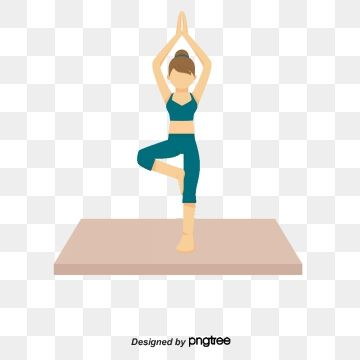Yoga People People Clipart Woman Cartoon Png And Vector With Transparent Background For Free Download