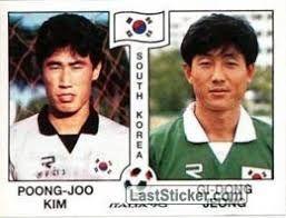 ORBIS 1990 WORLD CUP COLLECTION-#346-SOUTH KOREA-KIM JOO SUNG