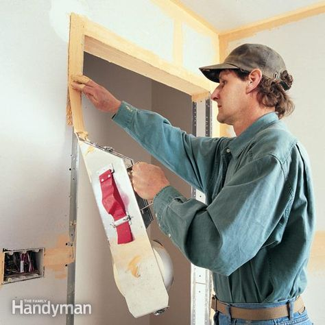 How To Tape Drywall With Images Hanging