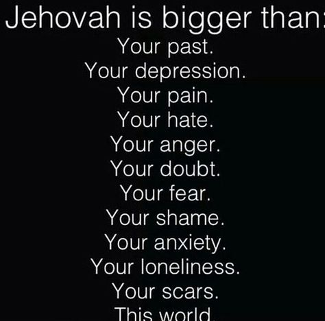 """Psalms 55:22 Throw your burden on Jehovah, And he will sustain you. Never will he allow the righteous one to fall. Yes Jehovah is only a """"prayer"""" away!!!!!"""