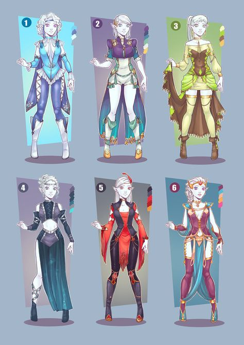 Cheap Adopts Outfits SOLD OUT! by Avionetca.deviantart.com on @DeviantArt