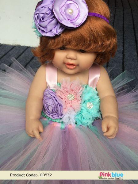 Buy Pastel Flower Unicorn Tutu Dress 1st Birthday Outfit Set