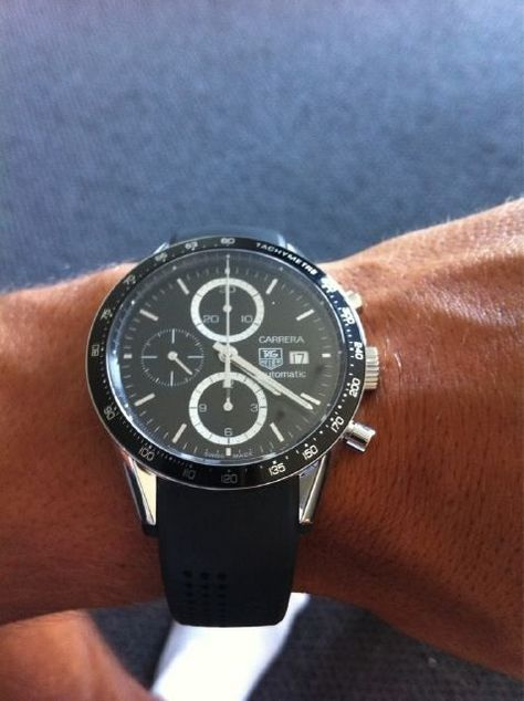 I'm about ready to upgrade to a new Tag ---- Tag Heuer Carrera