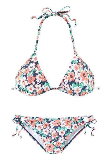 6051880d54cd6 OTTO Damen Chiemsee Triangel-Bikini im schönen Blumenprint rot ...