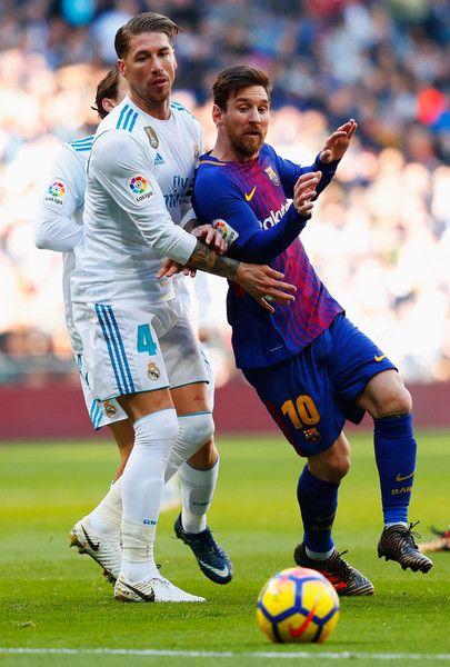 Lionel Messi Photos Photos Real Madrid V Barcelona La Liga Lionel Messi Sergio Ramos Messi