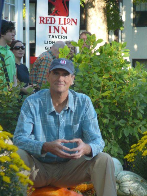 f7730967ba585d James Taylor on a pumpkin @ the Red Lion Inn