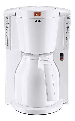 Look Timer Ground Type Filter Coffee Machine with Aroma Selector in Black