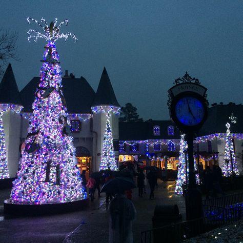 Christmas Town, Busch Gardens, Williamsburg, VA.