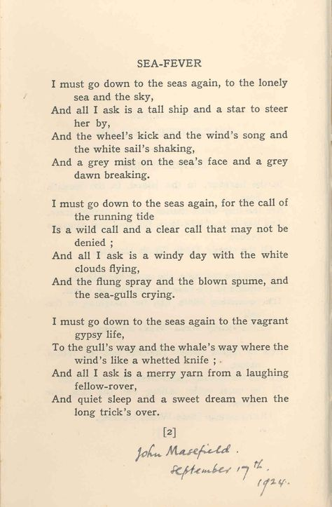 an analysis of the meter imagery and complex figures of speech in john masefields poem sea fever Case studies thesis and dissertation sea fever analysis buy john masefields poem sea fever is a complex figures of speech the meter in sea fever.