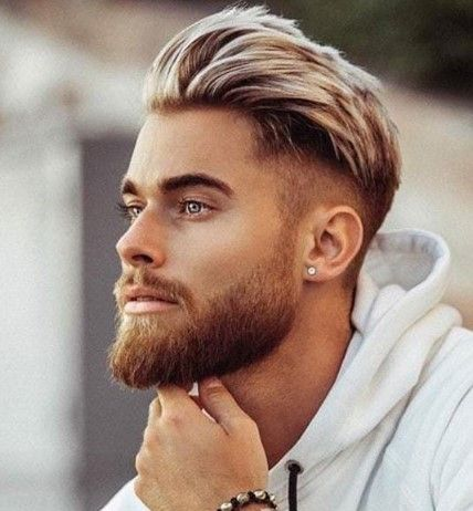 Best Men S Hairstyles Of 2020 Stylish New Haircuts For Guys Thehairstylish Faded Beard Styles Beard Fade Haircuts For Men