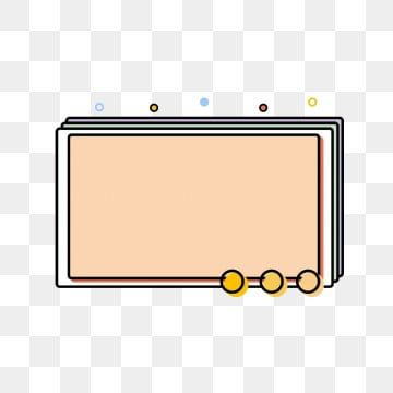 Memphis Minimalist Line Cartoon Cute Border Box Dialog Memphis Border Frame Simple Png Transparent Clipart Image And Psd File For Free Download Powerpoint Background Design Frame Template Printable Scrapbook Paper