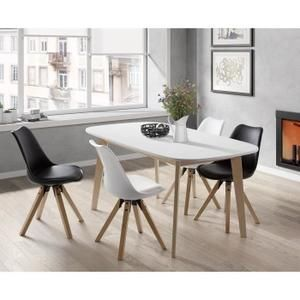 Naiss Extendable Dining Table From 6 To 8 People