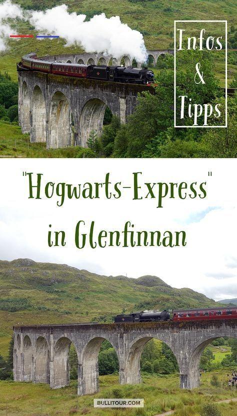 Den Harry Potter Zug Am Glenfinnan Viaduct Sehen Infos Und Tipps Outerhebrides Wolltest Du Schon Immer Einmal D Harry Potter Train Train Travel Hogwarts