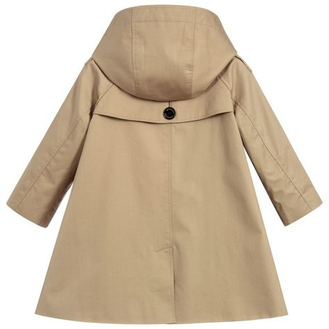 e5ce0d426 Burberry - Girls Beige BETHEL Trench Coat | JACKETS COATS SNOWSUITS ...