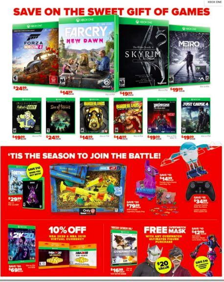 Gamestop After Christmas 2020 Sale, Offers & Deals on Thrilling