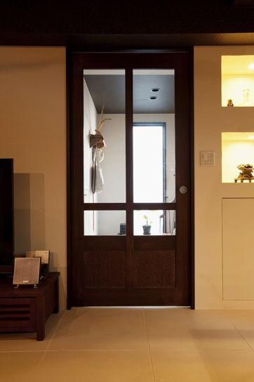 リフォーム リノベーションの事例 造作建具 ドア 施工事例no 223