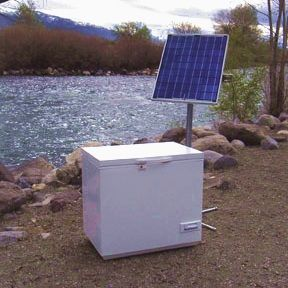 Store Solar Freezers Solar Refrigerators Dc Power 12 24v Off Grid Refrigeration By Sundanzer Solar Refrigerator Solar Panels Solar Energy Diy