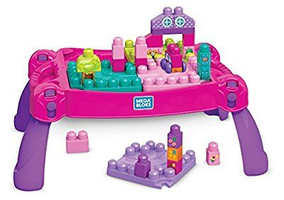 Vtech Touch And Learn Activity Desk Deluxe Pink Mega Bloks
