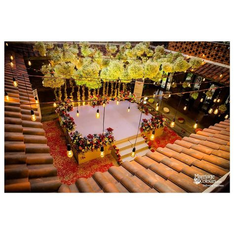 A birds eye view of the intimate wedding decoration  at #miththam . The cloud and star themed wedding in Mahabalipuram region. . . . Venue:@miththam #weddingdecor #intimatewedding #covidwedding #weddingsinmahabalipuram #idomahabs #weddingplanner #housewedding #homewedding #intimatewedding #weddingstagedecoration #covid19wedding #themewedding #Decor #decoration #weddingdecoration #sustainableweddingdecor #ecofriendlydecor #floralwedding #weddingprops #floralceiling