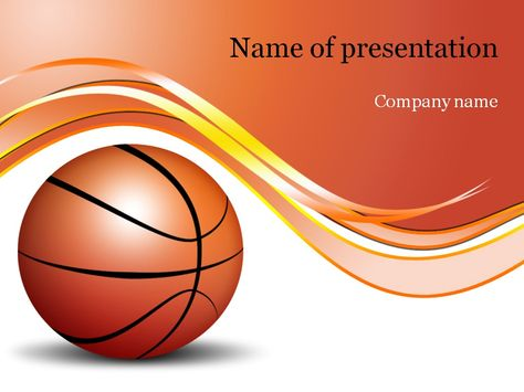 Basketball Game Powerpoint Template  Templates