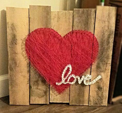 Multi Layered String Art String Art Within String Art Love Heart