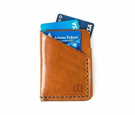 Tall Minimalist Wallet - Buck Brown
