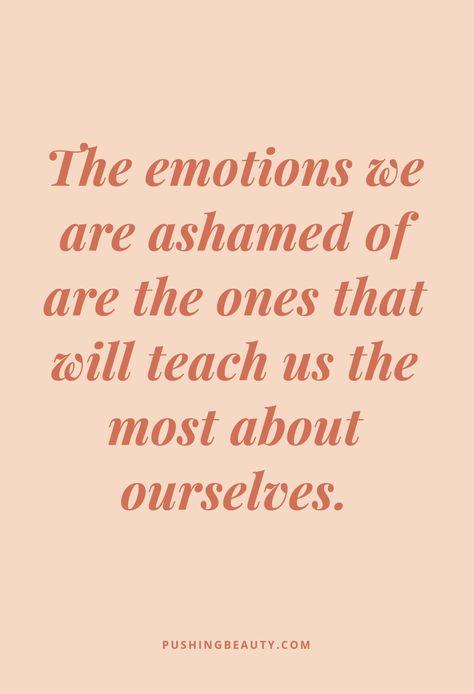 It's Safe To Feel Your Feelings — Pushing Beauty