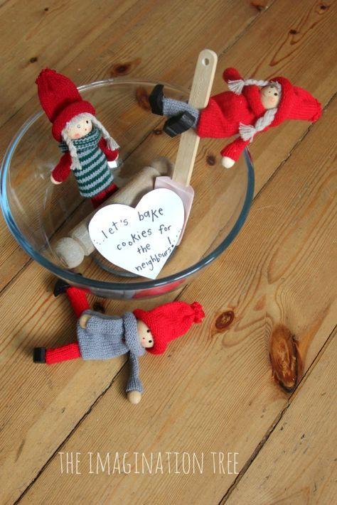 Kindness Elf Alternative Tradition {theimaginationtree}