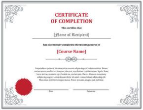 Download Free Template Free Certificate Templates Certificate