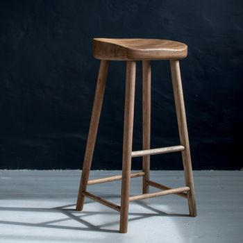 Weathered Oak Bar Stool In 2021 Oak Bar Stools Bar Stools Wood Counter Stools
