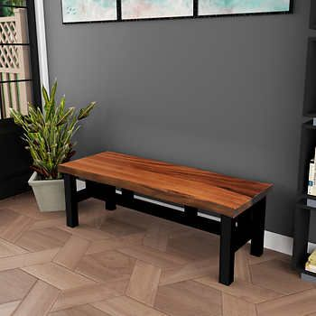 Gable Live Edge Bench Live Edge Bench Live Edge Dining Table Decor