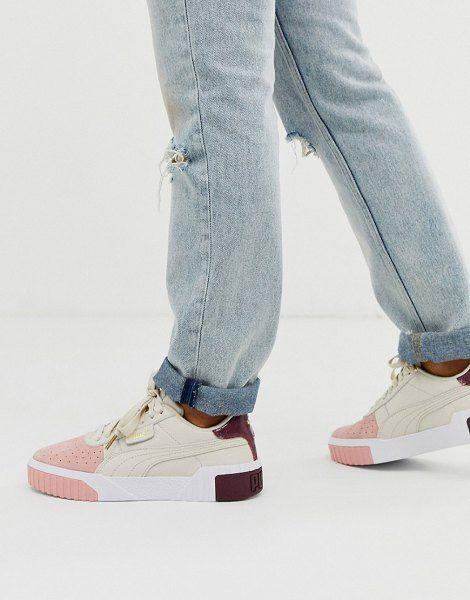 Puma Cali Remix Cream Color Block Sneakers in 2020 (With ...