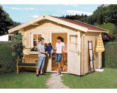 Weka Holz Gartenhaus Brescia B Bxt 300 Cm X 250 Cm Mit Vordach Gartenhaus Holzgartenhaus Haus