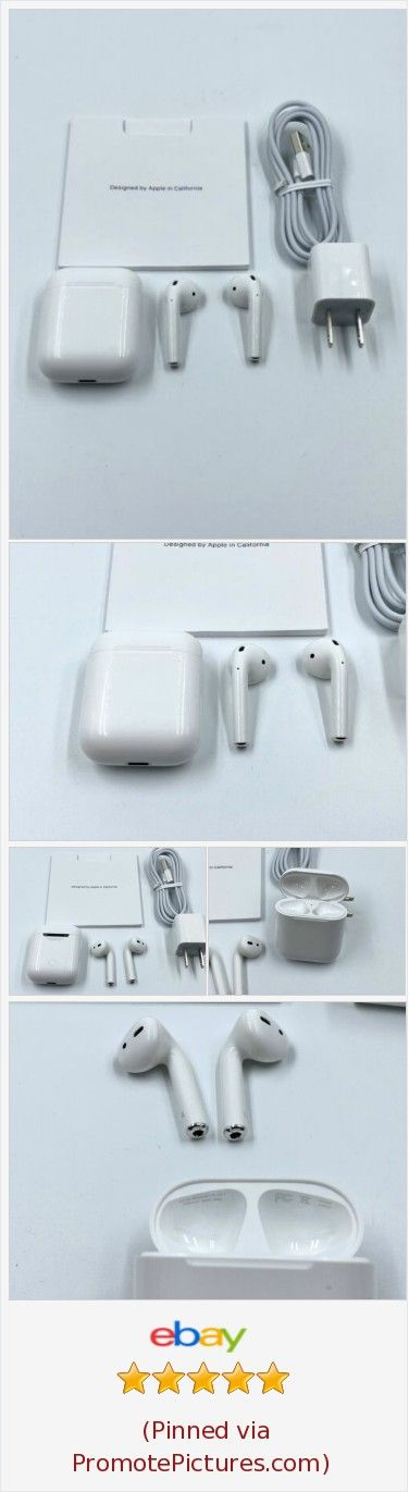 Apple Airpods 2nd Generation With Charging Case Mv7n2am A White Apple Airpods Tech Ebayauction Shopping Ebya Https Www E In 2020 Apple Airpods 2 Apple Case