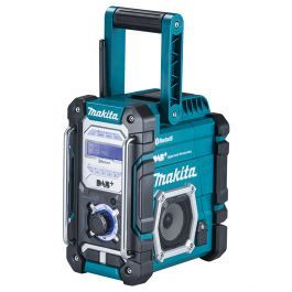 Makita Dmr112 Bluetooth Dab Job Site Radio Bare Unit Site Radio Radio Bluetooth Radio