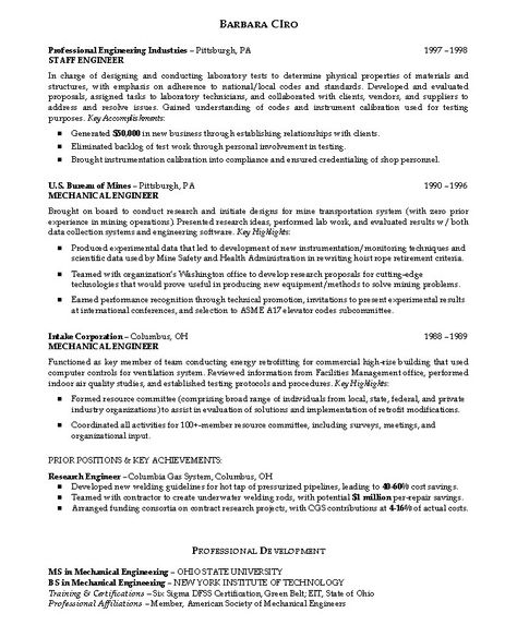 Army Computer Engineer Sample Resume Pleasing Computer Science