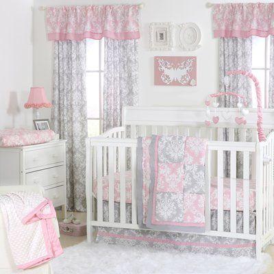 Baby Crib Bedding Sets, The Peanut Shell Bella 6 Piece Crib Bedding Set
