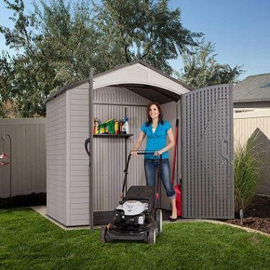 Lifetime 7 X 4 5 Storage Shed Outdoor Garden Sheds Shed